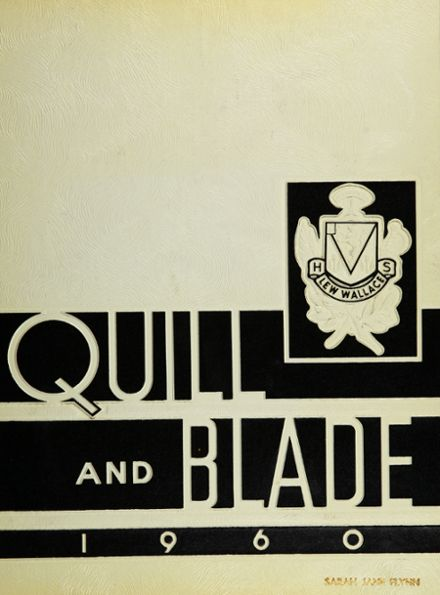 1960 Lew Wallace High School Yearbook Cover