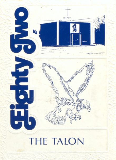 1982 St. Thomas Aquinas High School Yearbook Cover