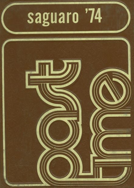 1974 Yuma Union High School Yearbook Cover