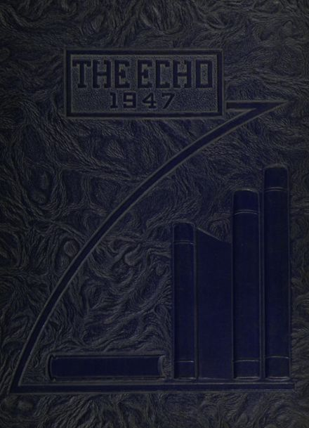 1947 Grand Blanc High School Yearbook Cover