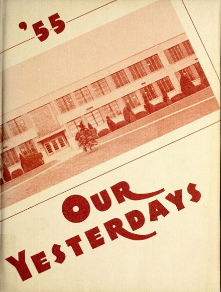 1955 Berne-French Township High School Yearbook Cover