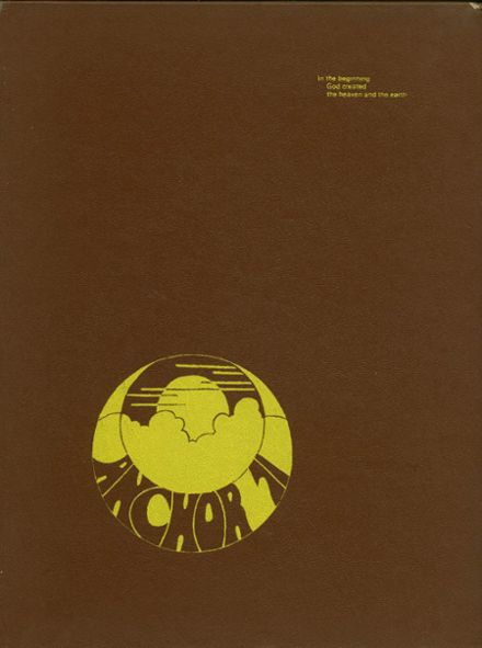1971 Golden Gate Academy Yearbook Cover