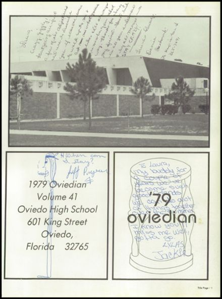 1979 Oviedo High School Yearbook Page 5