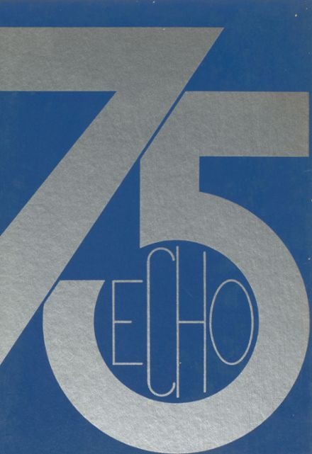 1975 Milton-Union High School Yearbook Cover