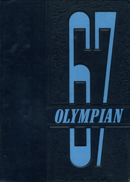 1967 McFarland High School Yearbook Cover