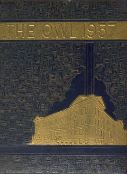 1957 Accredited Evening High School Yearbook Cover