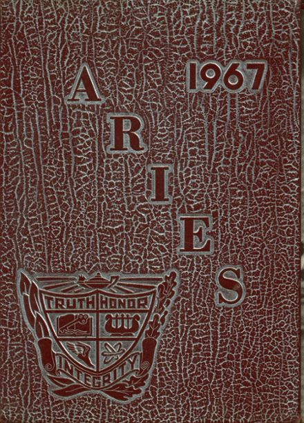 1967 Waltrip High School Yearbook Cover