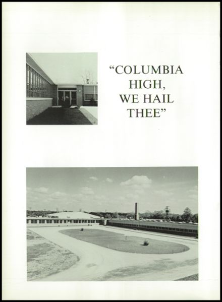 1963 Columbia High School Yearbook Page 6