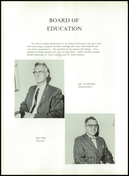 1963 Columbia High School Yearbook Page 8