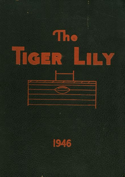 1946 Port Allegany High School Yearbook Cover
