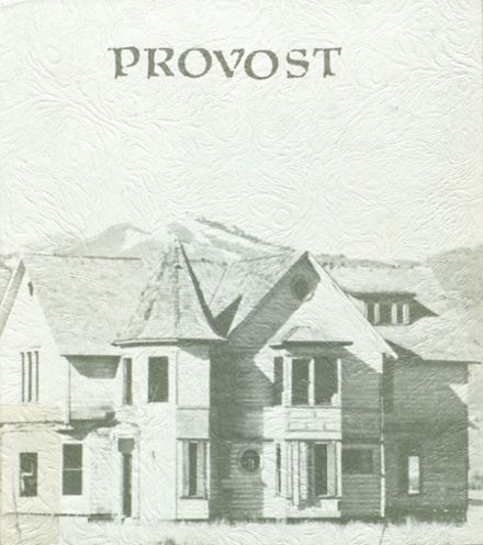 1976 Provo High School Yearbook Cover