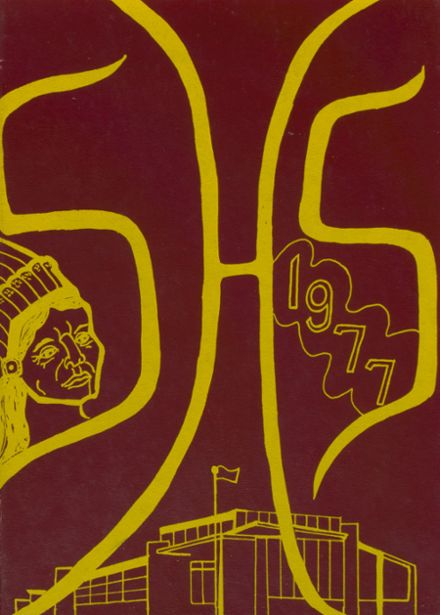 1977 Stockton High School Yearbook Cover