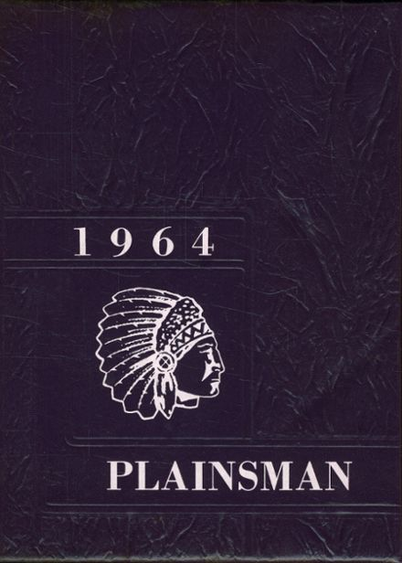 1964 Plains High School Yearbook Cover