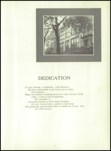 1964 Plains High School Yearbook Page 9