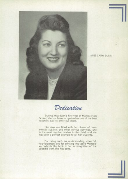 1948 Lemon Monroe High School Yearbook Page 7