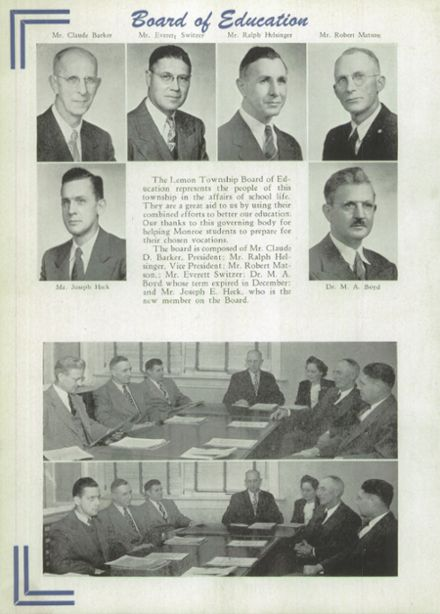 1948 Lemon Monroe High School Yearbook Page 8
