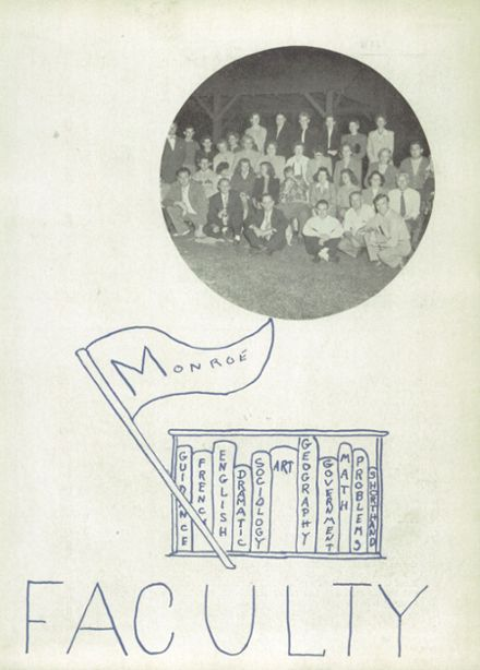 1948 Lemon Monroe High School Yearbook Page 9