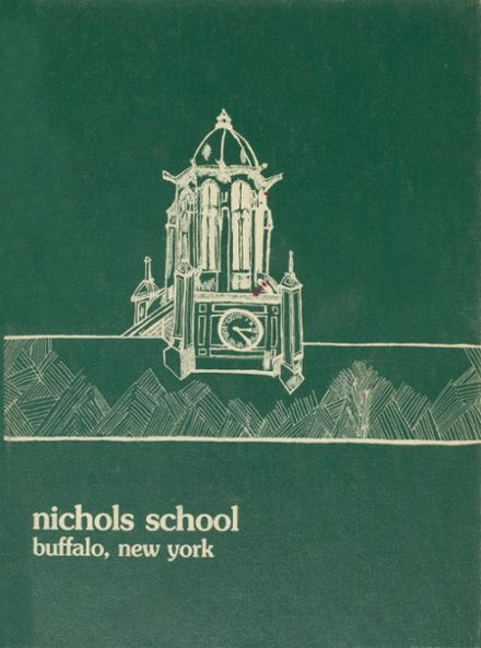 1976 Nichols School Yearbook Cover
