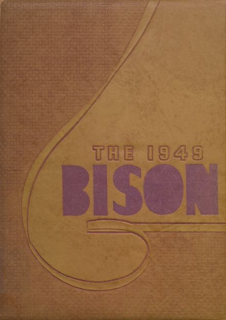 1949 Cross Plains High School Yearbook Cover
