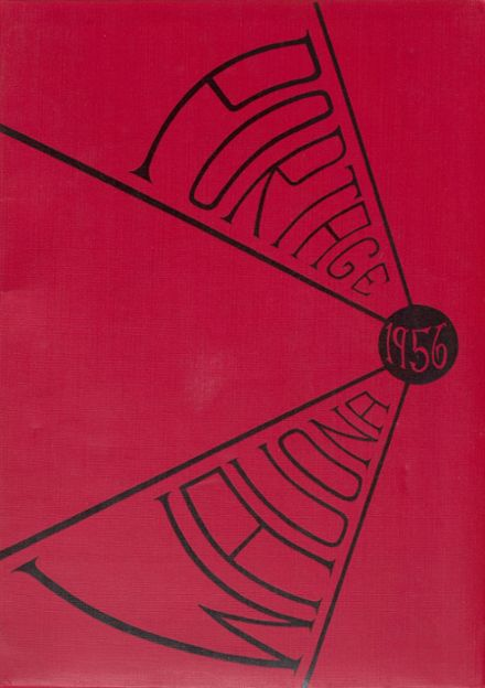 1956 Portage High School Yearbook Cover