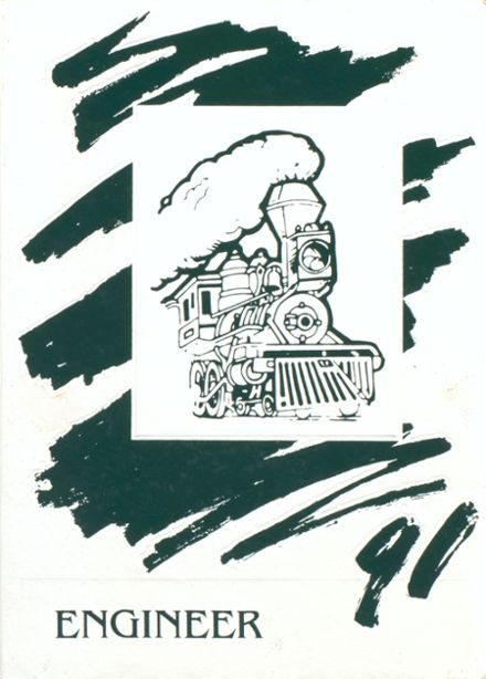 1991 Woodsville High School Yearbook Cover