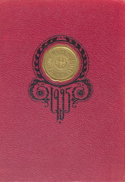 1935 Winona High School Yearbook Cover