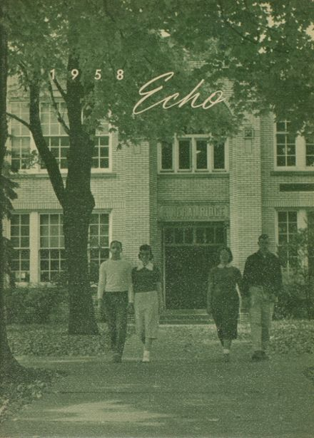 1958 Mineral Ridge High School Yearbook Page 1