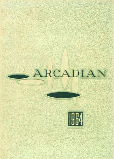 1964 Arcadia High School Yearbook Cover
