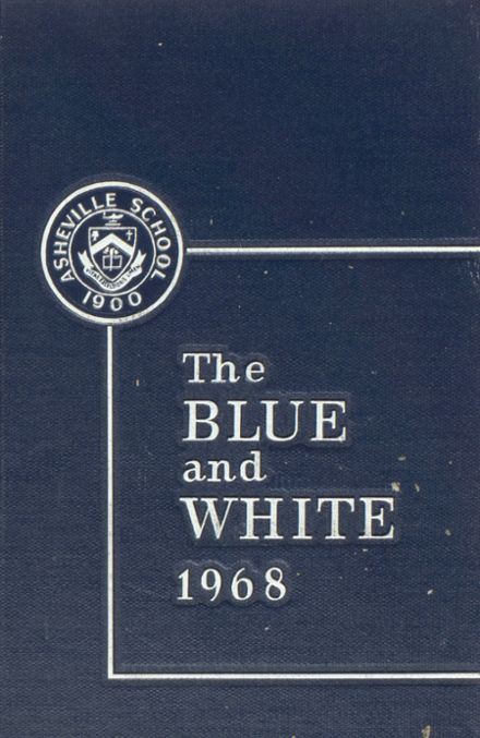 1968 Asheville School for Boys Yearbook Cover