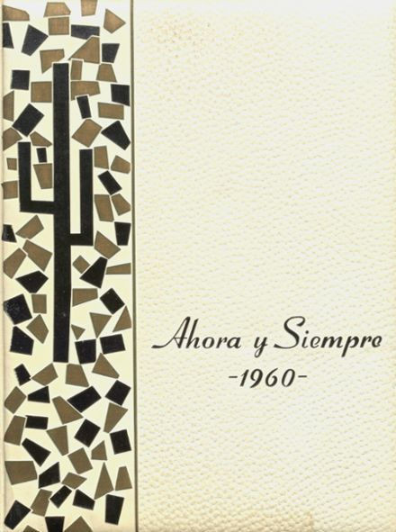1960 El Capitan High School Yearbook Page 1