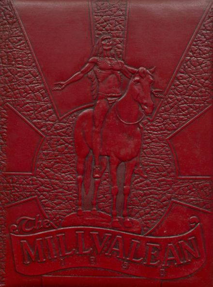 1950 Millvale High School Yearbook Cover