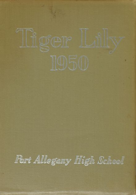 1950 Port Allegany High School Yearbook Cover