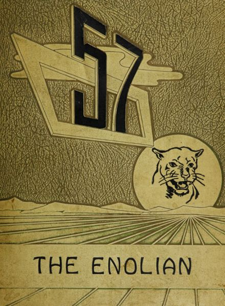 1957 East Pennsboro Area High School Yearbook Cover