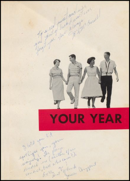1958 McAlester High School Yearbook Page 5