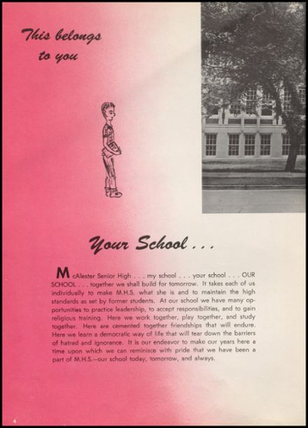 1958 McAlester High School Yearbook Page 8