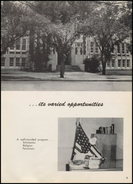 1958 McAlester High School Yearbook Page 9