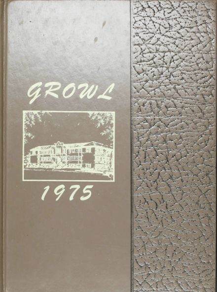 1975 Lutcher High School Yearbook Cover