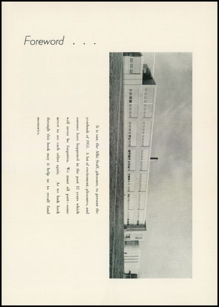 1954 Albion High School Yearbook Page 5