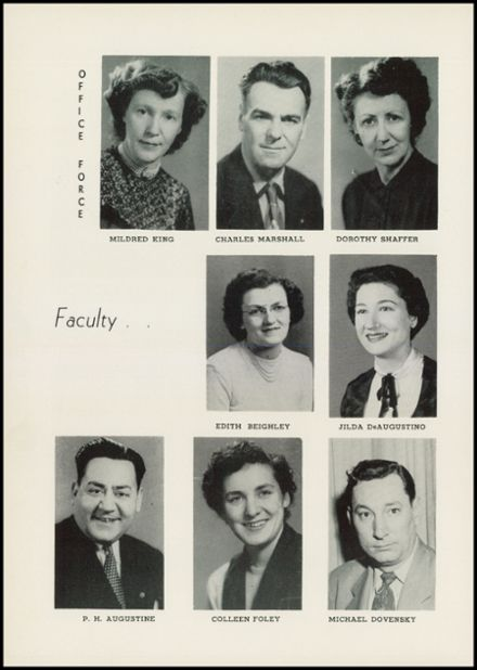 1954 Albion High School Yearbook Page 8