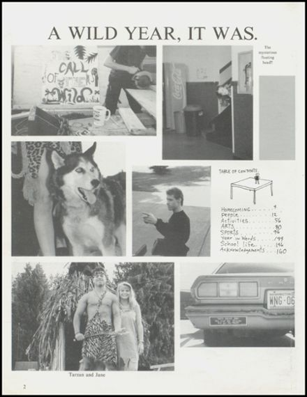 1992 Arlington High School Yearbook Page 6
