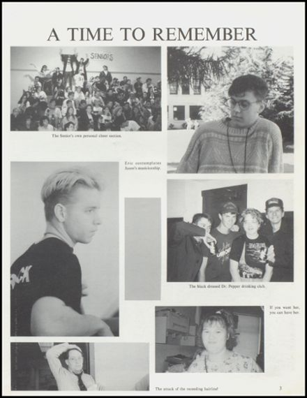 1992 Arlington High School Yearbook Page 7