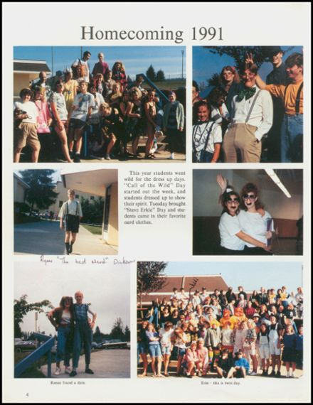 1992 Arlington High School Yearbook Page 8