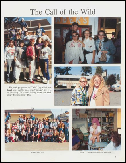 1992 Arlington High School Yearbook Page 9