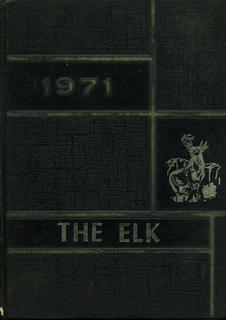 1971 Evant High School Yearbook Cover