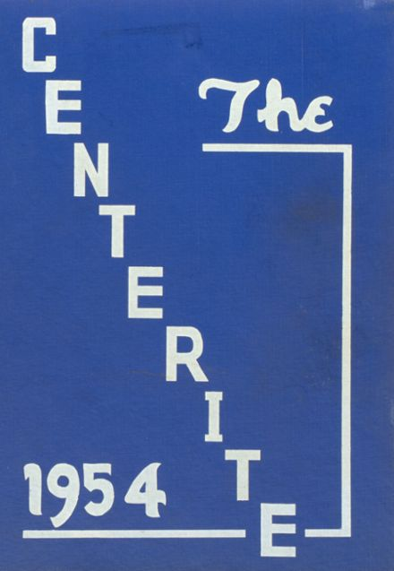 1954 Dodge Center High School Yearbook Cover