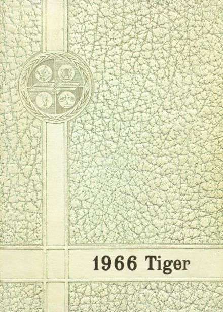 1966 Worth County R-III High School Yearbook Cover
