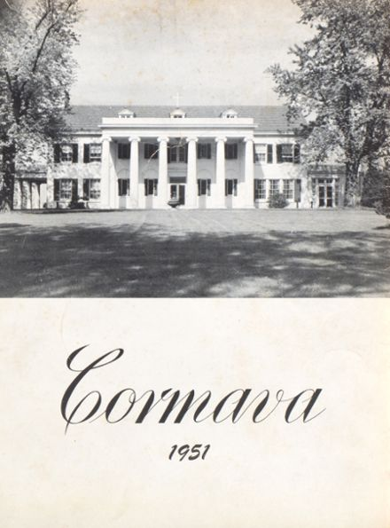 1951 Marymount High School Yearbook Cover