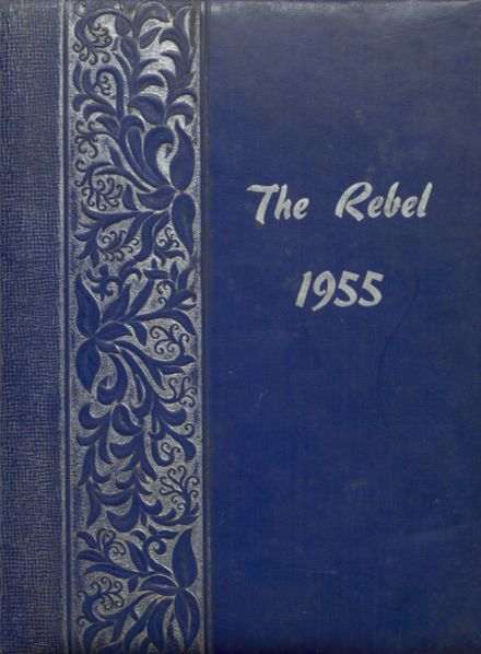 1955 Milburn High School Yearbook Cover