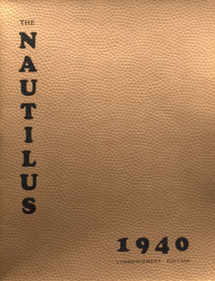 1940 College High School Yearbook Cover