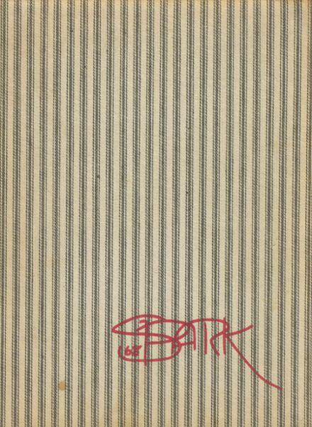 1968 Park School Yearbook Cover